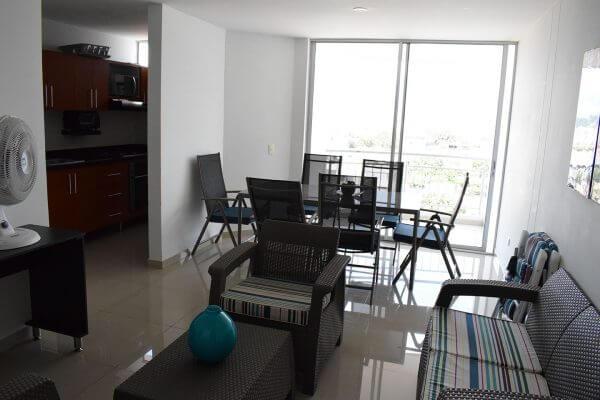 Apartamento amoblado Edificio Bellagio CIO Inmobiliaria